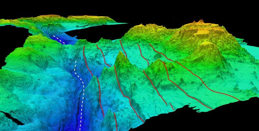 6 глубочайших морских впадин мира