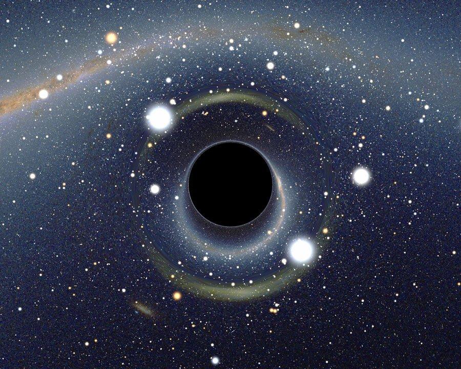 3 удивительных факта о том, что могло бы случиться с вами, попади вы в чёрную дыру