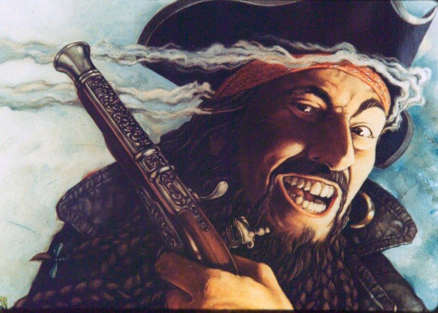 6 историй о самом страшном и знаменитом пирате в истории — Чёрной Бороде