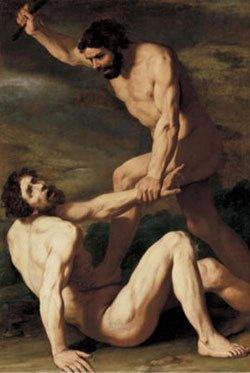 Каин убивает Авеля