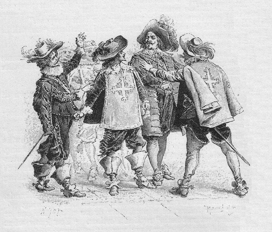 О настоящем авторе «Д'Артаньян и три мушкетёра» – Огюсте Маке, и его соперничестве с Дюма-отцом