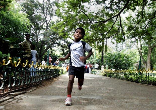 Indian child athlete Budhia Singh runs i