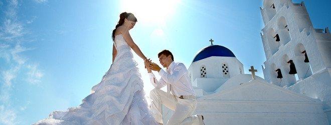 Свадебная церемония в Греции с шенгенской визой на пять лет