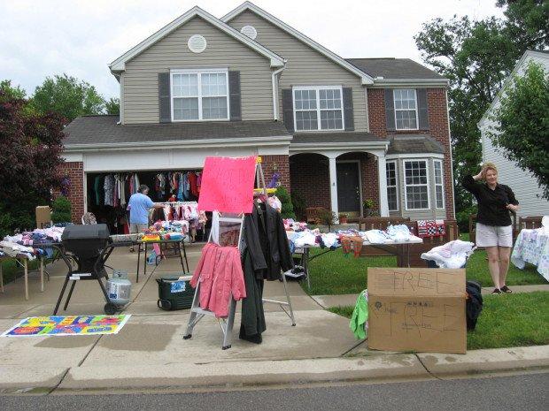 Garage Sale — или как одеться дешево