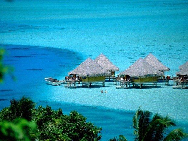 Мальдивы — райское место для уединенного отдыха
