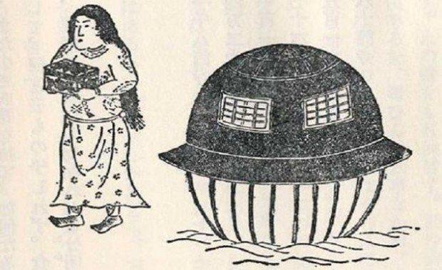 Древняя японская история, до сих пор вдохновляющая на поиски НЛО