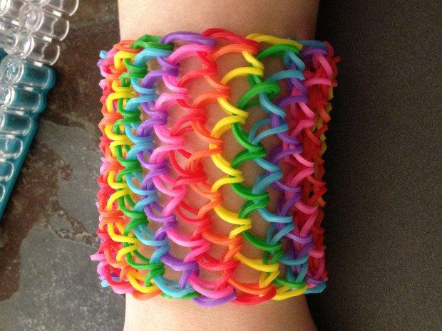 Танк из резинок для плетения