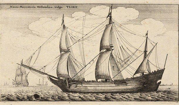 Быстроходное транспортное судно
