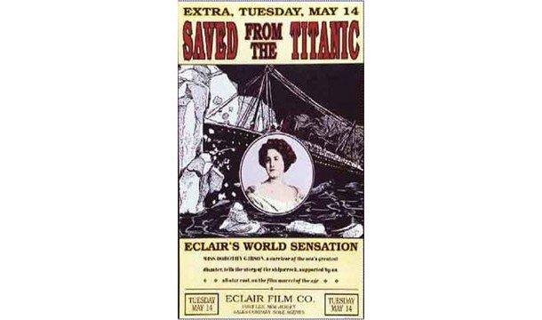 Афиша первого фильма о «Титанике»
