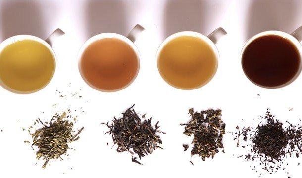Виды чая