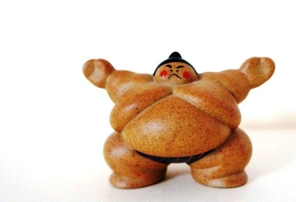 Фигурка сумоиста