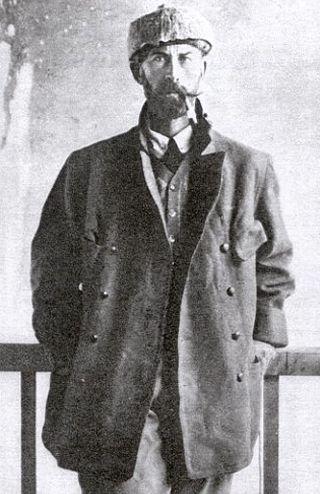 Знаменитый исследователь Перси Фоссет
