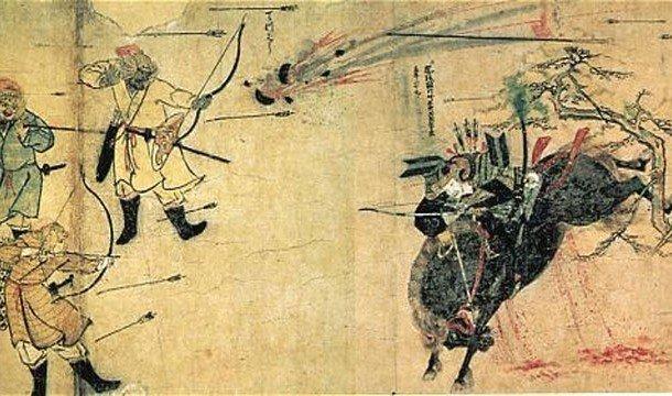 Лучники убивают своего врага