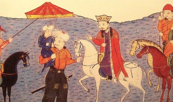Маленький Чингисхан и его отец
