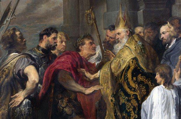 Папа Римский с римлянами