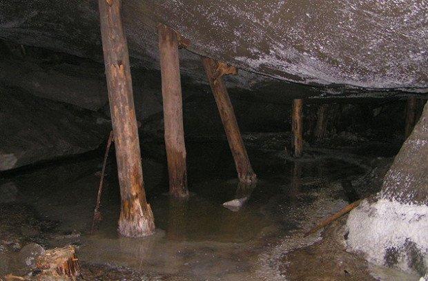 Соляная шахта в Польше