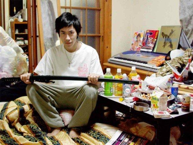 японец с мечом