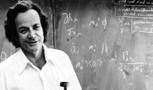 Ричард Фейнман также известен своей работой в Манхэттенском проекте
