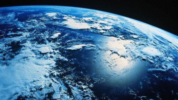 Планета Земля, снимок из космоса