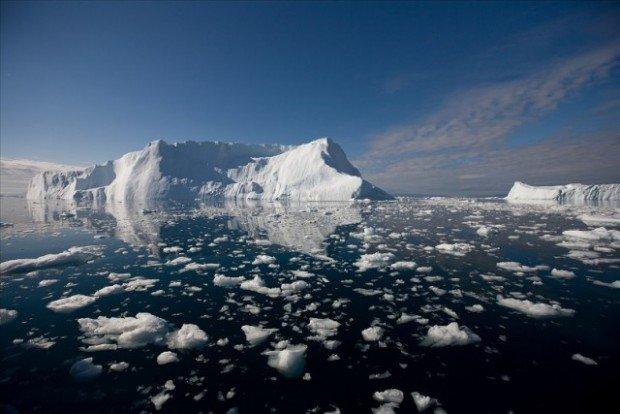 Льды в Арктике