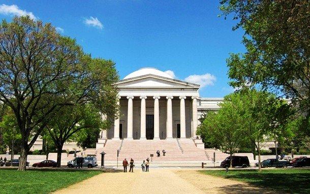 Здание национальной галереи искусств, Вашингтон