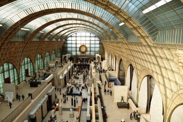 Зал музея Орсе, Париж