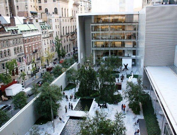 Здание музея современного искусства, Нью-Йорк