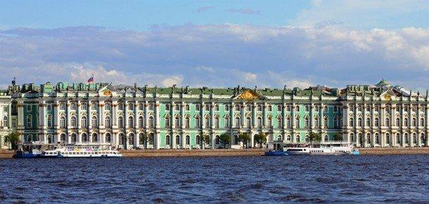 Здание эрмитажа, Санкт-Петербург