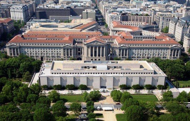 Здание национального музея  естественной истории, Вашингтон
