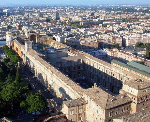 Здание Ватиканского музея, Ватикан
