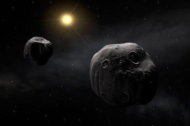 Уникальная система двух астеродов