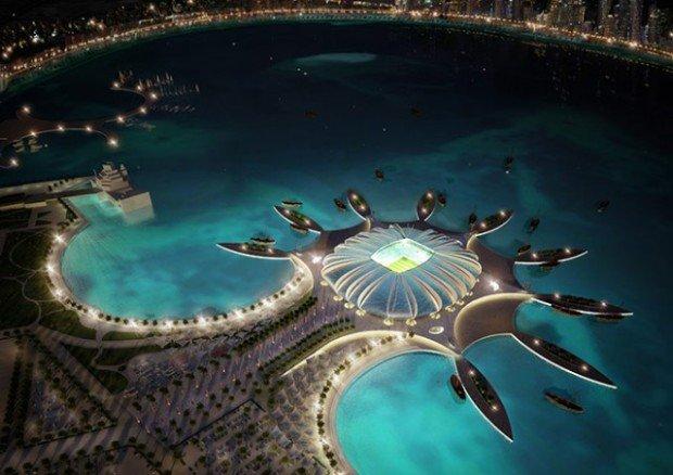 Проект одного из стадионов для Чемпионата мира - 2022