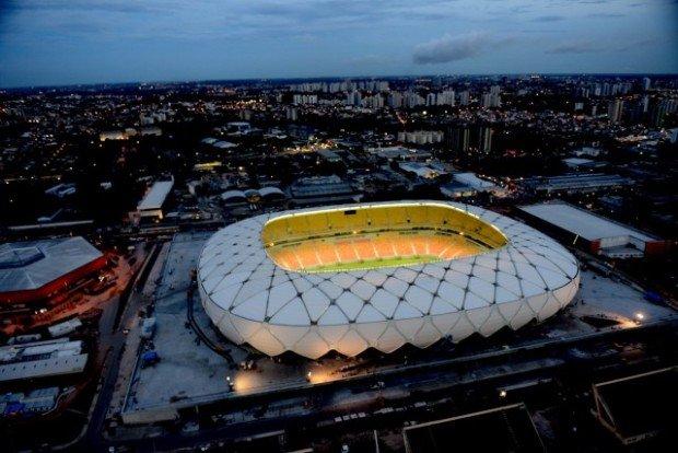 Стадион в Манаусе - Бразилия