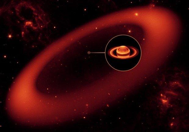 Внешнее кольцо Сатурна