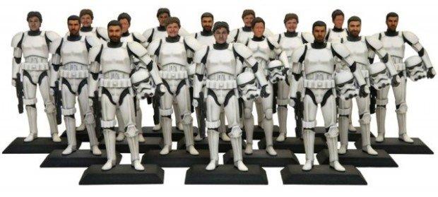 Персонализированные герои «Звёздных Войн»