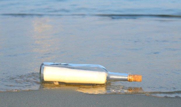 Послание в бутылке – 102 года