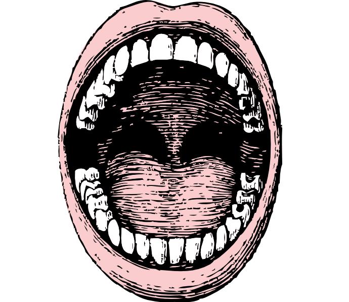 паразиты во рту человека