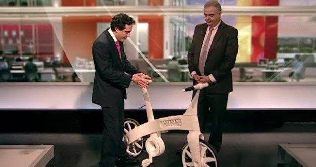 Велосипед из нейлона