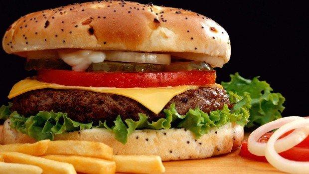 Бургер из