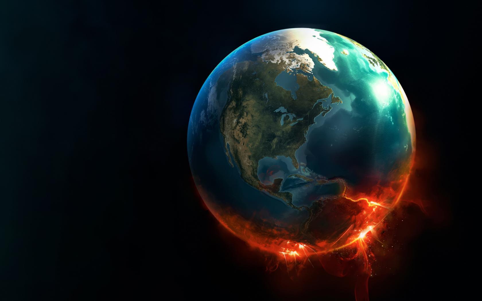 Горящая планета:катастрофа