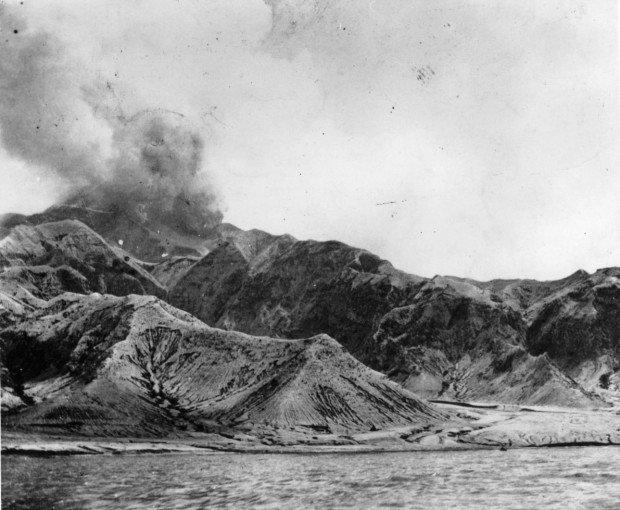 Извержение вулкана Монтань-Пеле