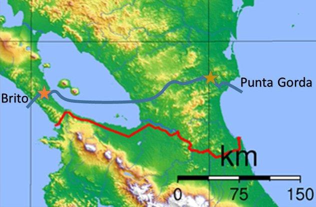 Канал в Никарагуа, который