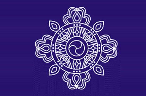 Логотип организации 'Аум Синрикё'