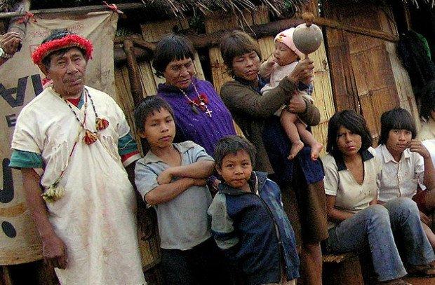 Представители племени Нукак
