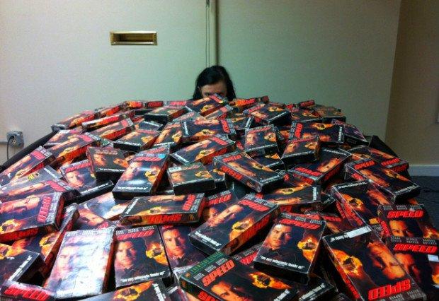 Райан Бейтс: коллекционер кассет с кинофильмом «Скорость»
