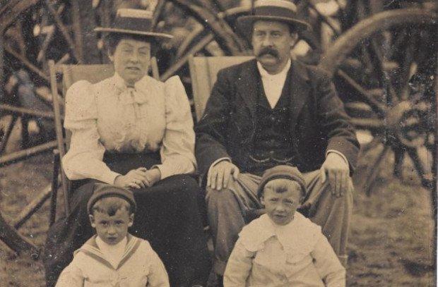 Семья из Маргита