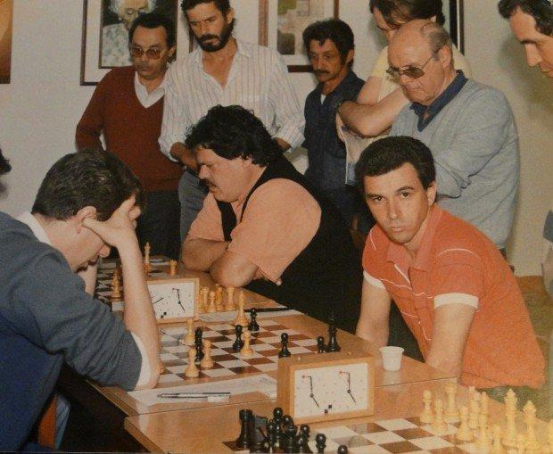 Шахматная партия с участием Франсиско Троиса