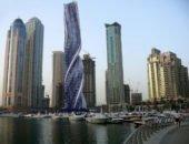 Вращающийся небоскрёб в Дубае