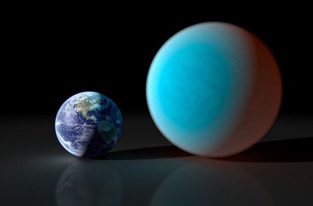 Земля и 'алмазная планета' 55 Cancri Е
