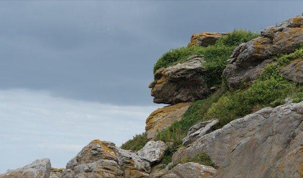Голова индейца Апаче во французских Альпах
